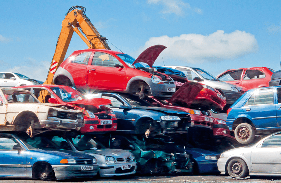 car recycling place